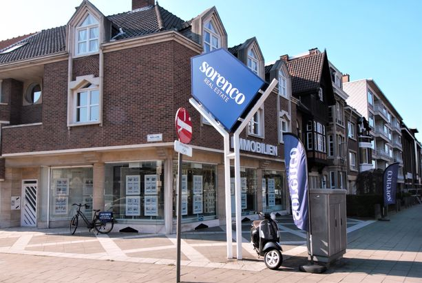 gevel sorenco Berchem Antwerpen Grote Steenweg